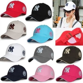 Unisex New York Yankees Cap Snapback Baseball Sport Adjustable Ny Summer Sun Hat