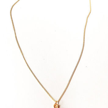 gold evil eye necklace - dainty delicate simple necklace - layering necklace blue evil eye