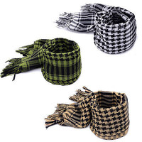 Military Arab Tactical Desert Scarf Neck Wrap