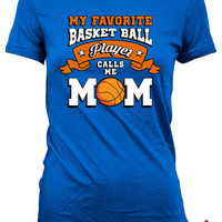 Basketball Shirts For Mom Basketball Mom Shirt Mothers Day Gifts Basketball Lover Shirt Basketball Gifts For Mom Sports Fan Ladies Tee MD614
