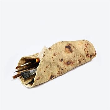 Food Tortilla School Pencil Case