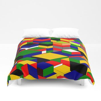 zappwaits squares Duvet Cover by netzauge