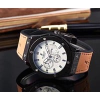 Hublot Ladies Men Fashion Quartz Watches Wrist Watch