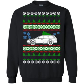 Subaru Wagon Ugly Christmas Sweater