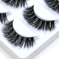 5X PAIRS Handmade Mink False Eyelashes