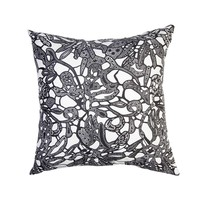 Downtown Lace Decorative Pillow Cover