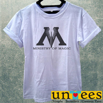Low Price Women's Adult T-Shirt - Harry Potter Decal Ministry of Magic design