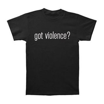 Marilyn Manson Men's Got Violence T-shirt Black - Walmart.com