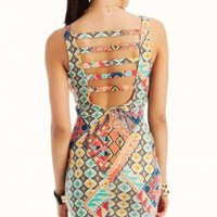 tribal body con bustier