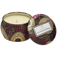 Voluspa Decorative Tin Candle, Goji & Tarocco Orange