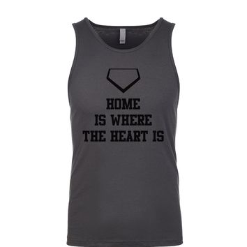 Home Is Where The Heart Is Men's Tank