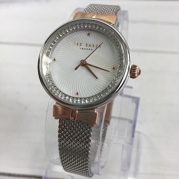 Ted Baker Te50268003 Two-tone Mesh Women's Watch (New with box)
