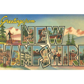 Greetings From New Hampshire Candle