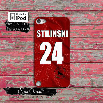 Teen Wolf Stiles Stilinski Lacrosse Jersey Beacon Hills Case iPod Touch 4th Generation or iPod Touch 5th Generation Rubber or Plastic Case