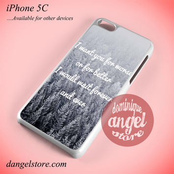 Taylor Swift I Want You Phone case for iPhone 5C and another iPhone devices