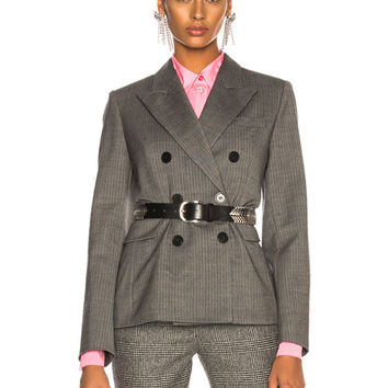 Isabel Marant Helsey Jacket in Grey | FWRD
