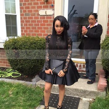 Black Homecoming Dresses for Girls