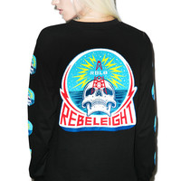 Rebel8 Rebel Transmissions Long Sleeve Tee Black