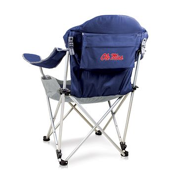 Ole Miss Rebels Reclining Camp Chair