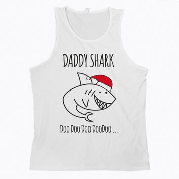Daddy Shark Doo Doo Tank Top Daddy Shark Tank