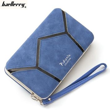 Baellerry Multifunction Long Women Fashion Wallets Female Purse Clutch Bag Credit Card ID Card Holder Large Capacity1321