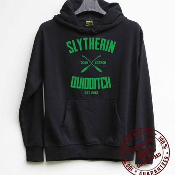 Slytherin Quidditch Shirt Harry Potter Shirt Hoodie – Size S M L XL