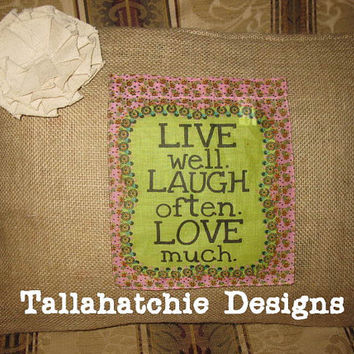 Shabby Chic Burlap Pillow Cover Burlap Lumbar Pillow Cover Burlap Pillow