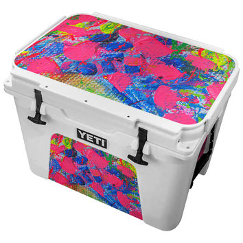 Coarse Paint Splatter Skin for the Yeti Tundra Cooler
