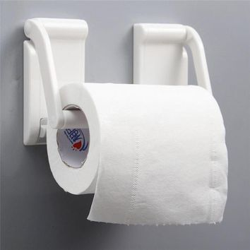 Magnetic Paper Towel Bathroom Hold Holders Kitchen Towel Rolling Tissue Rack Roll Holder Magnet wall mounted drop shipping