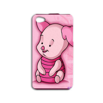 Winnie the Pooh Phone Case Cute iPod Case Piglet iPhone Case iPhone 4 iPhone 5s Case Disney iPhone 5 Case iPhone 4s iPod 4 Cover iPod 5 Case