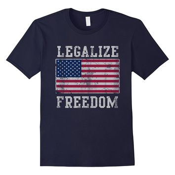 Legalize Freedom Patriotic USA Shirt