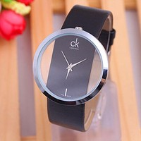 Perfect Calvin Klein Women Fashion Simple Wristwatch Watch