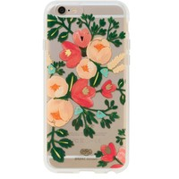 Clear Peach Blossom iPhone 6 Plus Case by RIFLE PAPER Co. | Imported