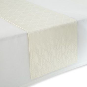 Waterford® Linens Stella 16-Inch x 90-Inch Table Runner
