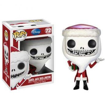 Santa Jack Skellington Funko Pop! Disney Nightmare Before Christmas