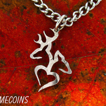 buck and doe necklace relationship interlocking love quarter