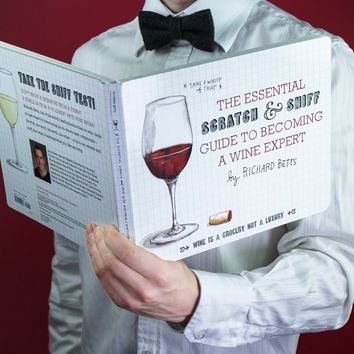 The Essential Scratch and Sniff Guide to Becoming a Wine Expert | Firebox.com - Shop for the Unusual