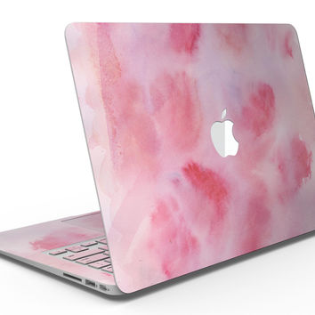 Light Pink 3 Absorbed Watercolor Texture - MacBook Air Skin Kit