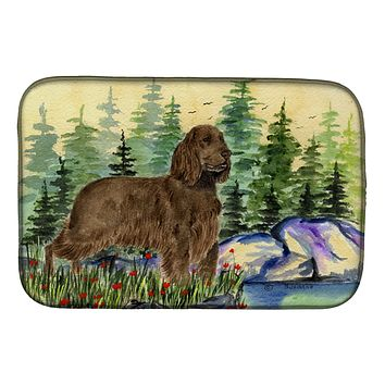 Field Spaniel Dish Drying Mat SS8131DDM