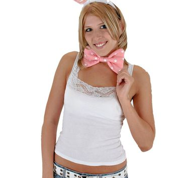 Bunny Ears Bow Tail Set Costumes for Halloween 2017