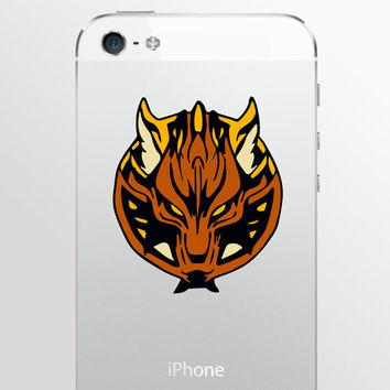 Lion decal sticker for iPhone 6, iPhone 5, Nintendo 3DS XL, 3DS, iPad, MacBook and all other devices! ma237