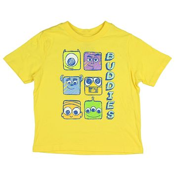 Disney Toddler Boys' Boxes Of Buddies T-Shirt