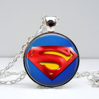Superman Emblem Necklace