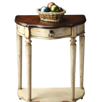 Vanilla & Cherry Console Table