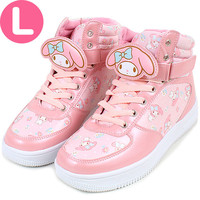 My Melody sneakers with anime clip sneaker L ☆ ★ kuroneko DM flights cannot be