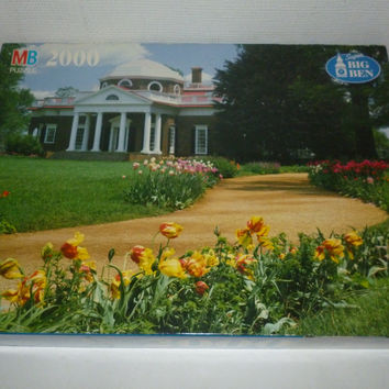 Monticello Virginia Home Of Thomas Jefferson 2000 Piece Jigsaw Puzzle