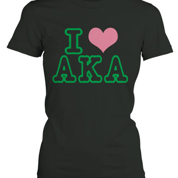 AKA - I Love AKA Ladies Tee