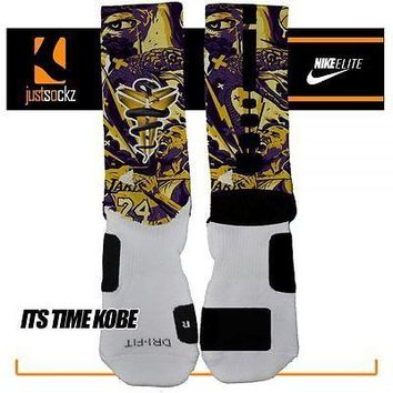 IT'S TIME KOBE Custom Nike Elite Socks