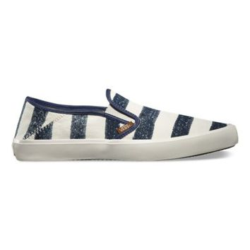 Vans Comino (Stripes dress blues)