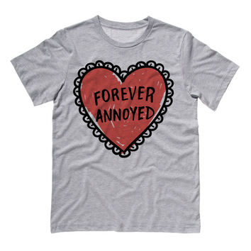 Forever Annoyed Heart T-Shirt
